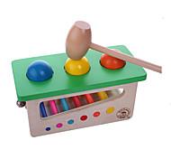 Alivia Estresse / Gadgets para Pegadinhas Hobbies de Lazer Brinquedos Quadrangular Madeira Verde Para Meninos / Para Meninas
