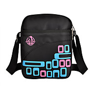 5 L Shoulder Bag / Daypack Leisure Sports / School Outdoor / Leisure Sports Multifunctional White / Pink PU Leather