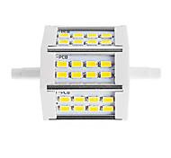 10W R7S LED прожекторы Трубка 24 SMD 5730 880 lm Тёплый белый / Холодный белый Декоративная V 1 шт.