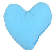 Dog Toy Pet Toys Plush Toy Heart Blue / Orange Textile