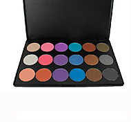 18 Eyeshadow Palette Dry Eyeshadow palette Pressed powder Normal Daily Makeup