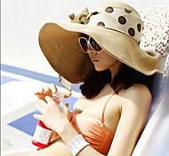 Для женщин - На каждый день - Соломенная шляпа (Лён/Соломка