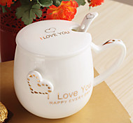 Чайные чашки / Бутылки для воды / Кофейные чашки / Чай и напитки 1 PC Керамика, -  Высокое качество