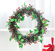 Christmas Window Decoration Green Wreath