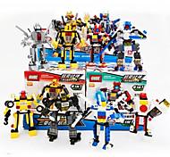 Фигурки героев и мягкие игрушки Конструкторы Для получения подарка Конструкторы Танк Военные корабли Воин Боец Вертолет Робот5-7 лет 8-13