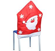 половина стерео нетканое рождественские старик стул наборы 50 * 65см