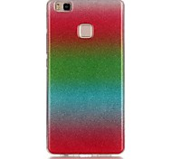 Glitter Gradient Material TPU Phone Case for Huawei P8 Lite P9 Lite 4C
