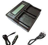 ismartdigi EL3e LCD Dual зарядное устройство с кабелем для зарядки в автомобиле для NIKON D90 D80 D300 D300S D700 D200 enel3e камеры