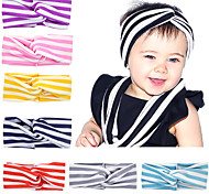 Baby Girl Headbands Kids Infant Striped Turban Baby Cute Hairband Hair Accessories Bandeau Cheveux Knot Headband