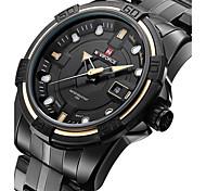 Masculino Relógio Esportivo / Relógio Militar / Relógio Elegante / Relógio de Moda / Relógio de Pulso Quartzo LED / Calendário / PunkAço