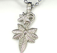 Fashion Leaf 316L Stainless Steel Pendant Necklace