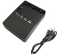 LC-E6E Battery Charger and US Charger Cable for Canon LPE6 5D2 5D3 7D 60D 6D 70D 80D