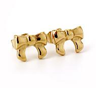 Fashion Beautiful Bowknot 316L Stailesss Steel Stud Earring