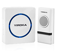 Wireless Doorbell with Remote Control No Need Battery for Both Transmitter and Receiver EU/US/UK Plug