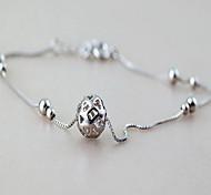 женщина серебра стерлингового серебра круговой застежкой омар ножной