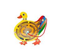 Juguete Educativo / Laberintos y Juegos de Lógica Hobbies de Tiempo Libre Juguetes Novedades Pato Madera AmarilloPara Chicos / Para