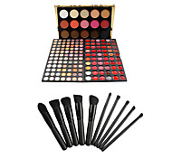159 Concealer/Contour+Shadow+Lip Gloss+Makeup Brushes Wet Eyes / Face / Lips China Others