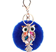 Porta-Chaves Brinquedos Originais Brinquedos Porta-Chaves Pássaro Metal Azul Para Meninos / Para Meninas