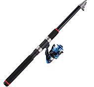 Cana de pesca Vara de Pesca Rotativa Carbono 21 M Pesca de Mar Pesca Geral Haste Azul-OEM