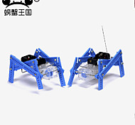 Crab Kingdom Infrared Obstacle Avoidance Obstruction Ultrasonic Car 97 Remote Control Intelligent Tracing DIY Puzzle Competition Car