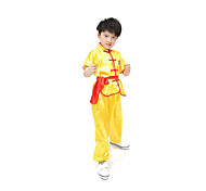 Cosplay Costumes Festival/Holiday Halloween Costumes White / Yellow / Blue Solid Top / Pants / Belt Kid