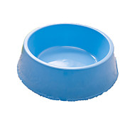 Cat Bowls & Water Bottles Pet Bowls & Feeding Portable Blue Plastic