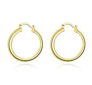 Wholesale Nickle Free Antiallergic Gold Plated Earrings For Women New Fashion Jewelry Silver Plated Ladies Earring