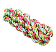 Cat Toy Pet Toys Interactive Rope Red Green Blue Textile