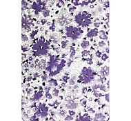 6 Inch Flower Pattern PU Leather Case with Sleep for New Kindle (Kindle 558)