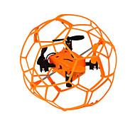 Drone 1340 4CH 6 Eixos - Iluminação De LED Retorno Com 1 Botão Modo Espelho Inteligente Vôo Invertido 360° Quadcóptero RC Controle Remoto