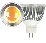 5W Lâmpadas de Foco de LED MR16 1 COB 600 lm Branco Quente / Branco Frio DC 12 V 2 pçs