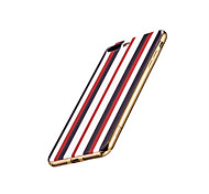 HOCO Fashion Stripe Style Soft TPU Electroplating Back Case Cover for iPhone 7 iPhone 7 Plus
