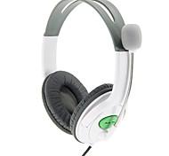 usb microfone headset fone de ouvido universal para PS3 e PC