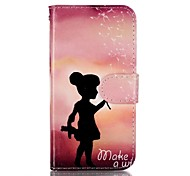 For Samsung GalaxyS7 edge S7 Wallet Shockproof Flip Dandelion Girl  TPU Soft Case Cover