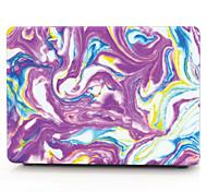 caja colorida magnífico patrón de piedra macbook equipo para el macbook air11 13 PRO13 / / 15 / Pro con retina13 15 macbook12