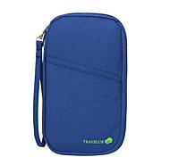 Travel Wallet Passport Holder & ID Holder Waterproof Dust Proof Portable for Travel StorageOrange Gray Purple Red Blue