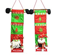 2Pcs Home Accessories Holiday Decoration Culinary Christmas Storage Bag