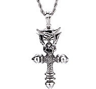 Kalen New Arrivals 316 Stainless Steel Men's Punk Ox Demon Pendant Necklaces Male Fashion Rock Party Accessories Cool Cheap Gifts
