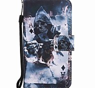 For Motorola G4 Play G4 Case Cover Magician Painted Lanyard PU Phone Case