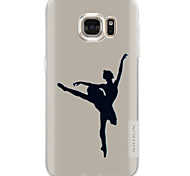 For Samsung Galaxy S7 Edge S6 Case Back Cover Dancer Pattern Soft TPU for S7 S6 Edge Plus S6 Edge  S6 Active S5