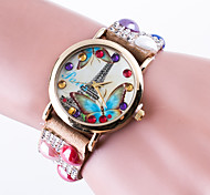 Reloj Mujer Top Brand Women's Casual Wrist Watch Quartz Bracelet Watch Ladies Rhinestone  Band Tower Dial montre femme clock
