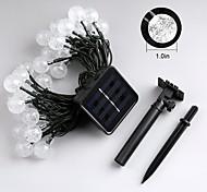 Jiawen 4.5м 30LEDs 8 режимов Открытый водонепроницаемый солнечного света шнура СИД