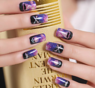 1pcs  Nail Art Sticker Harajuku Star Light Style