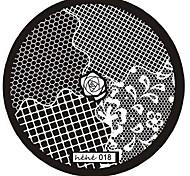 1PCS Rose Pattern Nail Art Image Stamp Stamping Plates Manicure Template Nail Art Tool