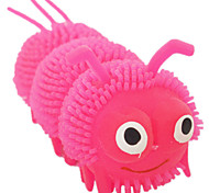 Dog Pet Toys Interactive Insect Green / Pink / Orange Silicone