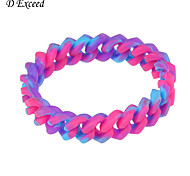 New Arrival Fashion Cute Multi-color Silicone Bracelet BL140319