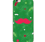 Para Diseños Funda Cubierta Trasera Funda Dibujos Dura Policarbonato para AppleiPhone 7 Plus / iPhone 7 / iPhone 6s Plus/6 Plus / iPhone