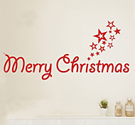 Christmas Wall Stickers Plane Wall Stickers Decorative Wall Stickers,PVC Material Removable Home Decoration Wall Decal