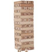 Für Geschenk Bausteine Holz Beige Spielzeuge