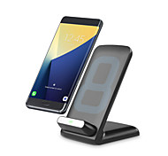 rapide sans fil pad chargeur 9v qi 2a carte émetteur charge rapide sans fil pour galaxie s7 s6 bord note5 ou autre phon intelligent